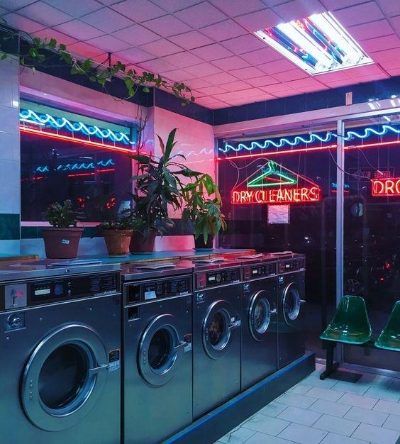 Прачечная - отличный вариант, если стиральной машины нет