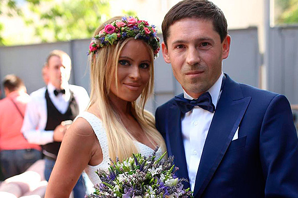 Борисова с мужем