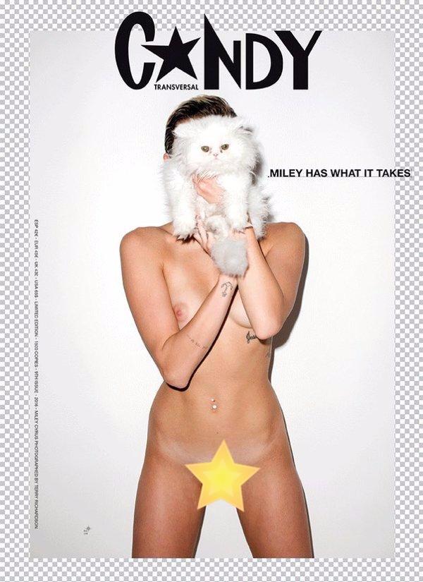 Майли Сайрус показала голую правду голливудских звезд: скандальная фотосессия - фото №4
