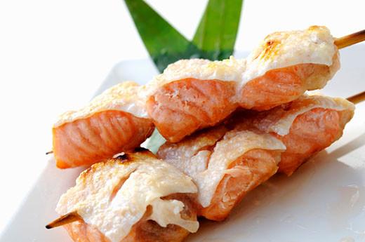 Пасхальный шашлык: из печени, рыбы и мидий - фото №3