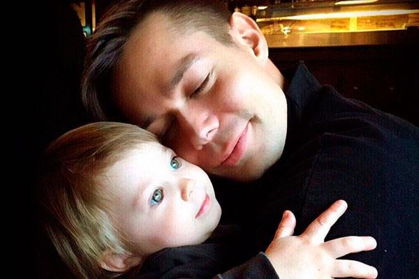 Пьеха с сыном
