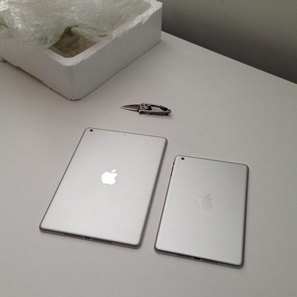 В сети появились фото и видео нового iPad 5 - фото №1