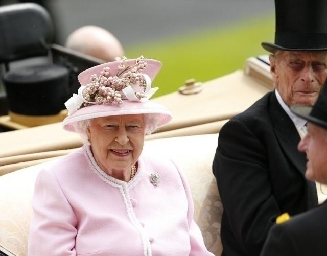 Royal Ascot 2016 Королева Елизавета II