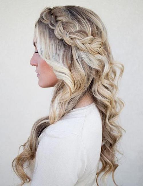 Самые красивые прически на выпускной вечер: фото простых причесок для волос любой длины - фото №25