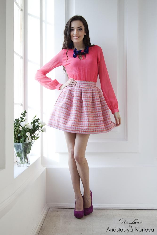 Розовый цвет в одежде и его секреты - фото №1