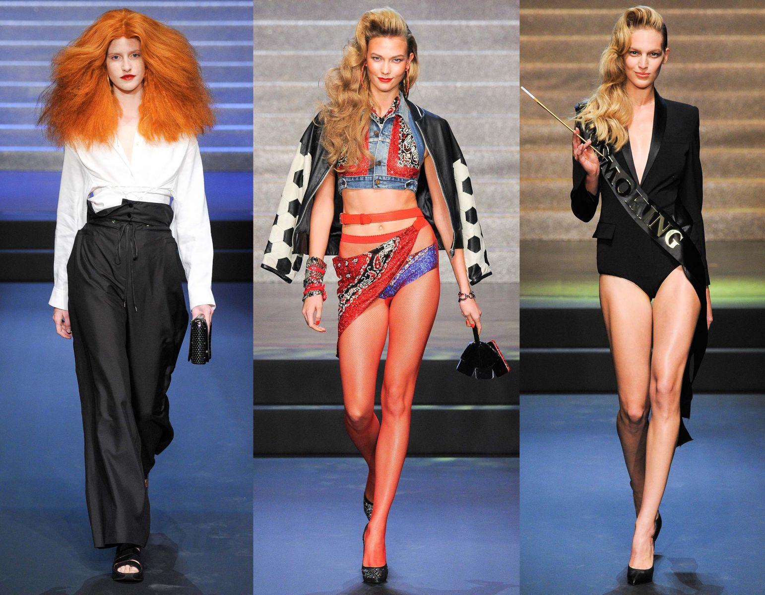 Неделя моды в Париже: Jean Paul Gaultier, весна-лето 2015 - фото №2