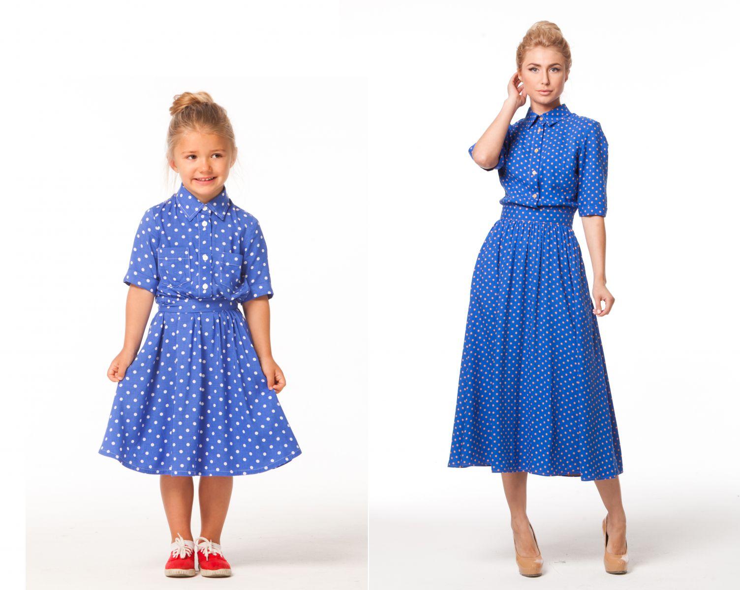 Как одеться маме с дочкой - фото №4