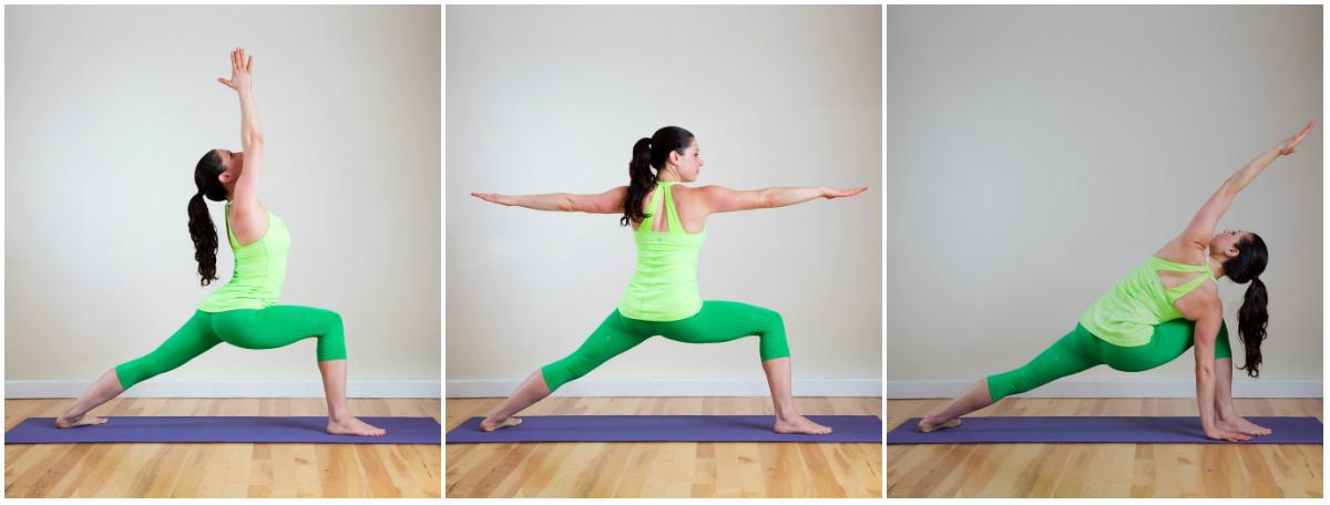 Убрать живот упражнениями с йоги