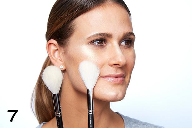 стробинг техника макияжа
