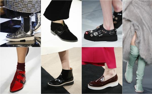 обувь на осень 2016