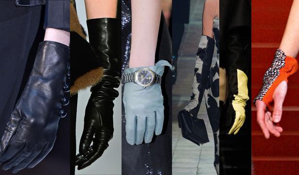 Модные перчатки сезона осень-зима 2013-2014 - фото №4