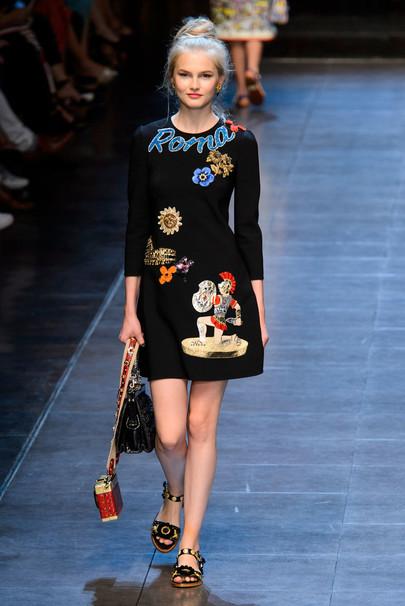 Коллекция Dolce & Gabbana 2015 на Неделе моды в Милане