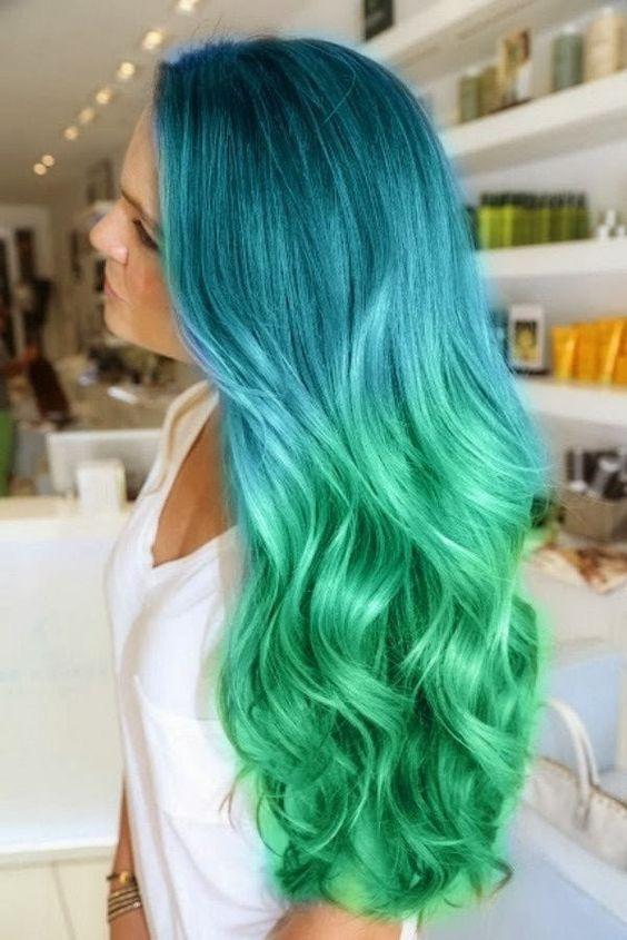 Как стать русалкой или красим волосы в главный цвет 2017 года - фото №3