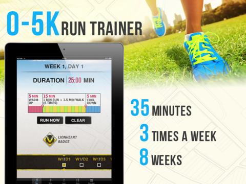 Как пробежать первые 5 км: лучшие мобильные приложения с планом пробежек - фото №5
