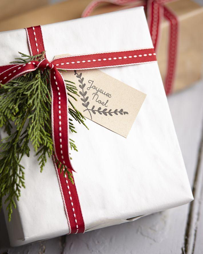 Как сделать упаковку для новогодних подарков своими руками - фото №8