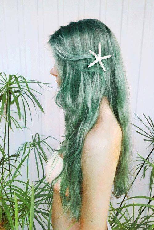 Как стать русалкой или красим волосы в главный цвет 2017 года - фото №5