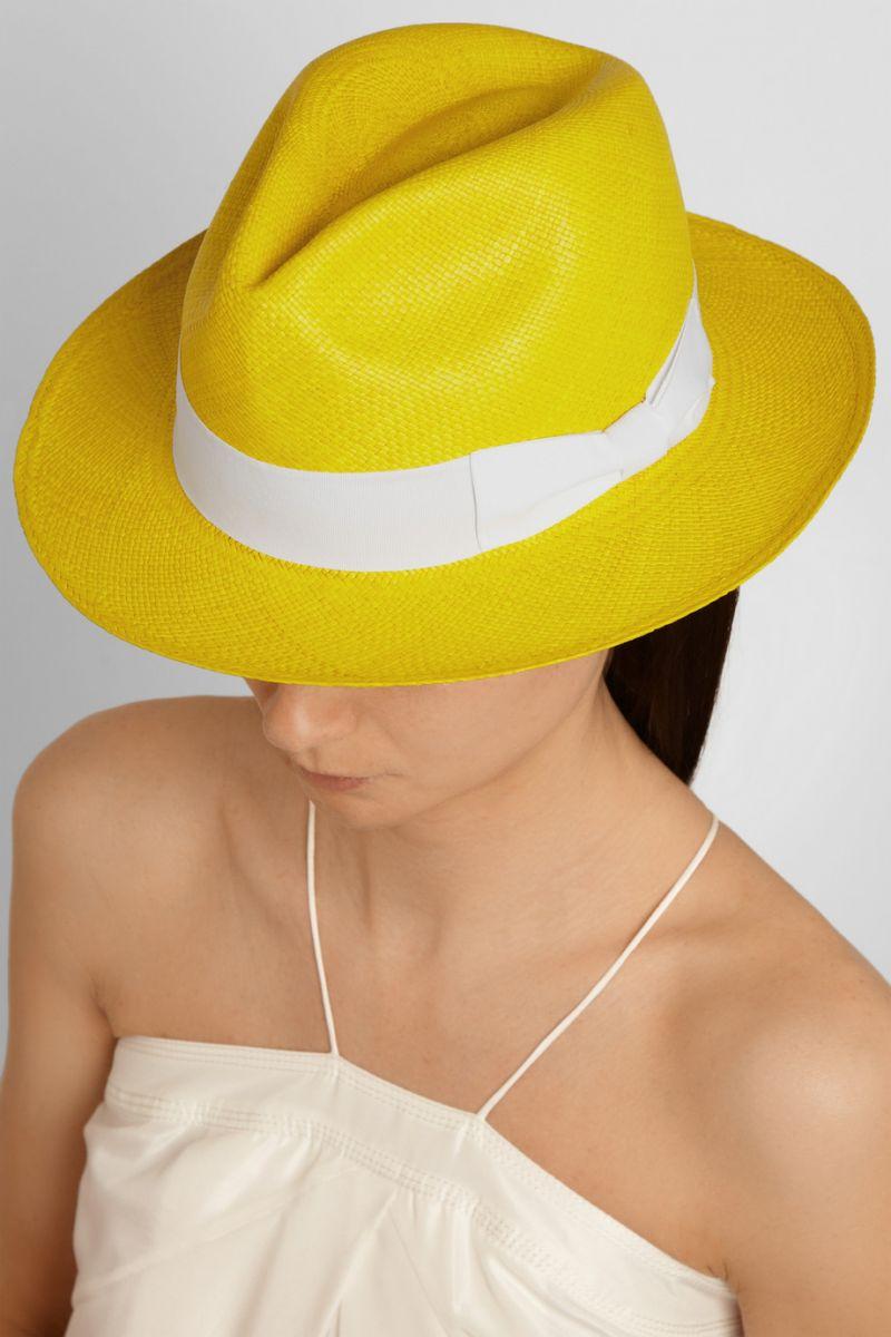 Соломенная шляпа Sensi Studio - фото №1