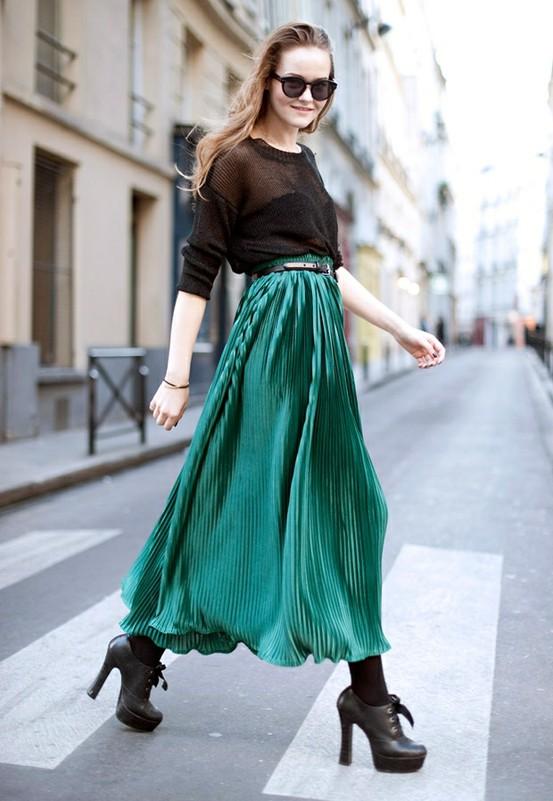 Тренд: изумрудно-зеленый цвет - как и с чем носить - фото №13