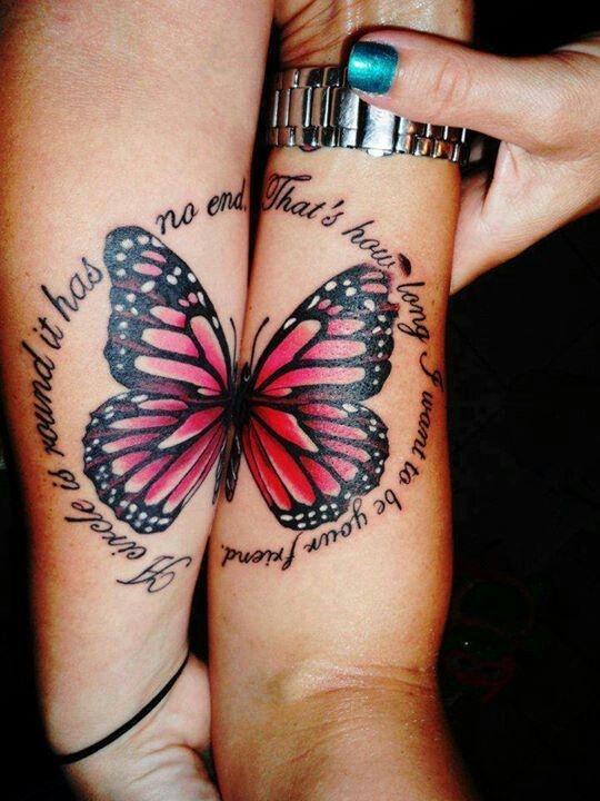 Дань сестринству: лучшие примеры sister tatoo для тебя и твоей подруги - фото №5
