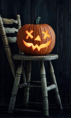 хэллоуин декор фото