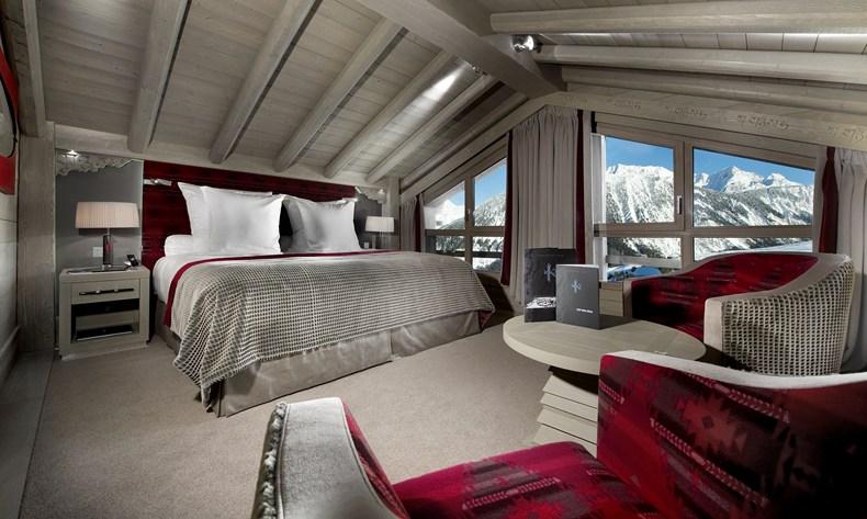 Лучшие отели мира: Hotel Le K2, Куршевель, Франция - фото №3