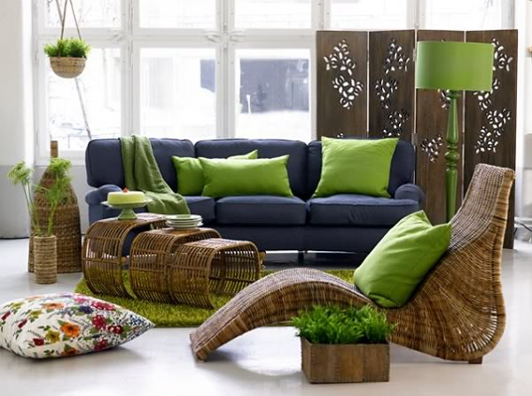 Тренд в интерьере: зеленый цвет - фото №1