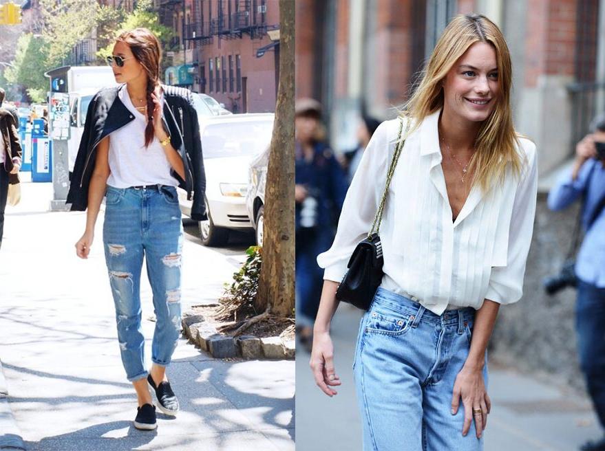 Как вернулись в моду несексуальные мом-джинсы - фото №4