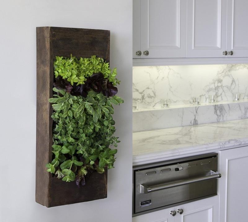Такой подвесной ящик станет не только отличным украшением твоей кухни, но и поможет вырастить любимые травы.