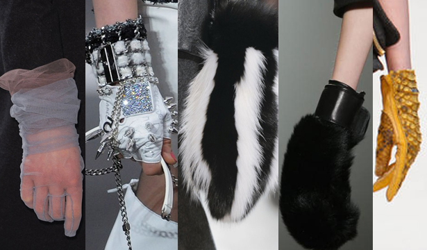 Модные перчатки сезона осень-зима 2013-2014 - фото №5
