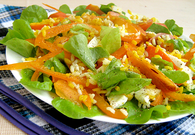 Топ 5 салатов с хурмой - фото №5