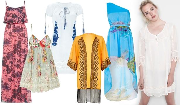 Пляжная мода 2014: тенденции в одежде и аксессуарах - фото №2