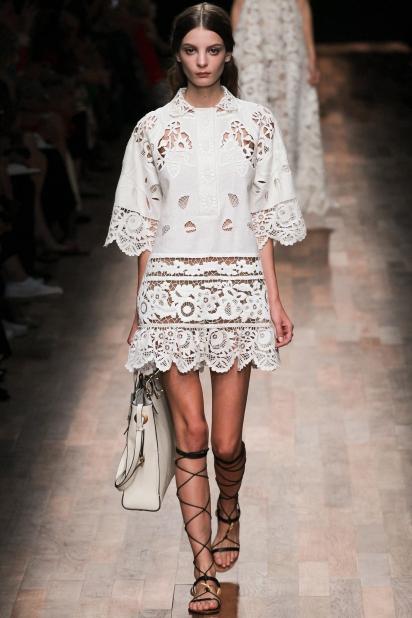 Весна 2015: как и с чем носить юбку-трапецию