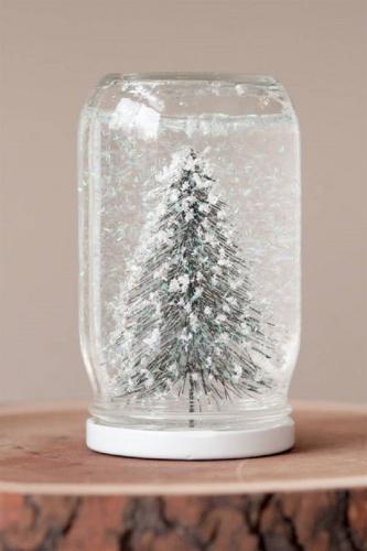 снежный шар на новый год