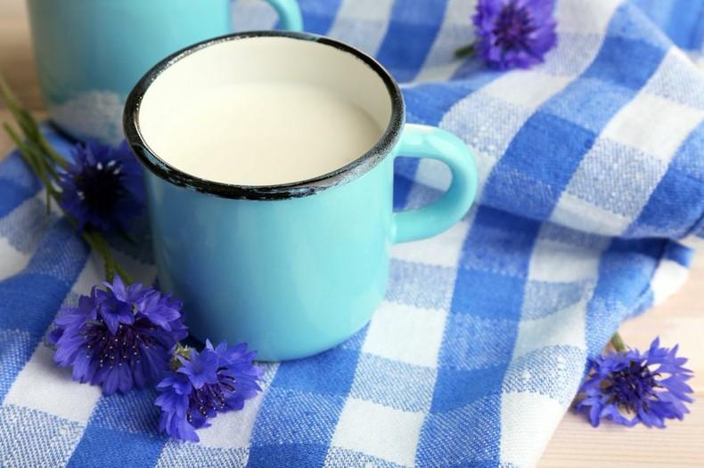 молоко польза