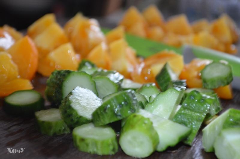 Кулинарная колонка Оли Мончук. Салат в банке - фото №4