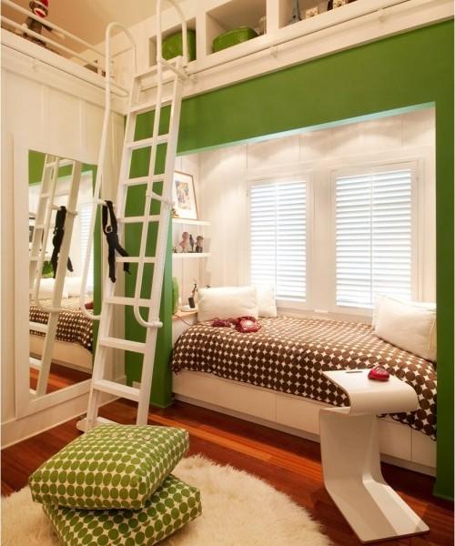 Тренд в интерьере: зеленый цвет - фото №9