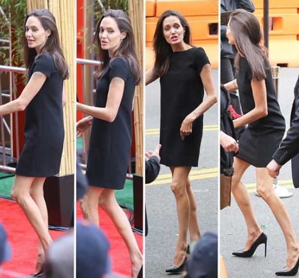Джоли похудела