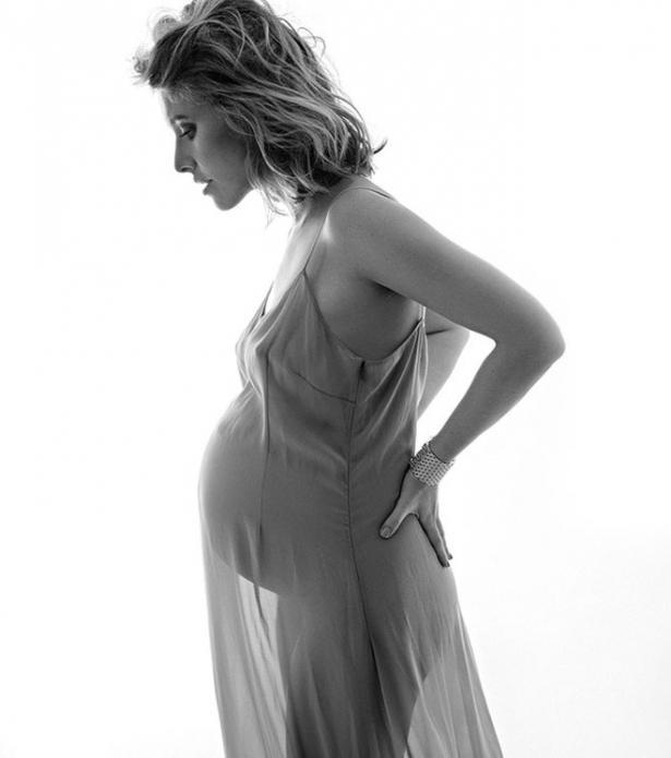 собчак беременная голая фото