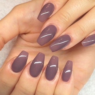модная форма ногтей 2016 пуанты