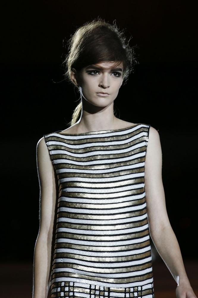 Неделя моды в Нью-Йорке: полосатое шоу Marc Jacobs - фото №8