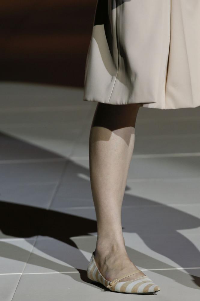 Неделя моды в Нью-Йорке: полосатое шоу Marc Jacobs - фото №9