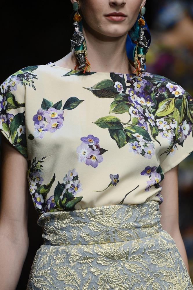 Неделя моды в Милане: показ Dolce&Gabbana - фото №8