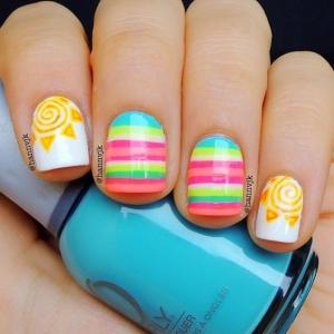 50 идей модного летнего маникюра и дизайна ногтей (фото) - фото №16