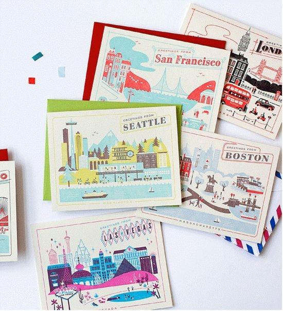 Из отпуска можно отправить открытку себе