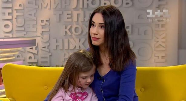 Янина Андреева с дочкой