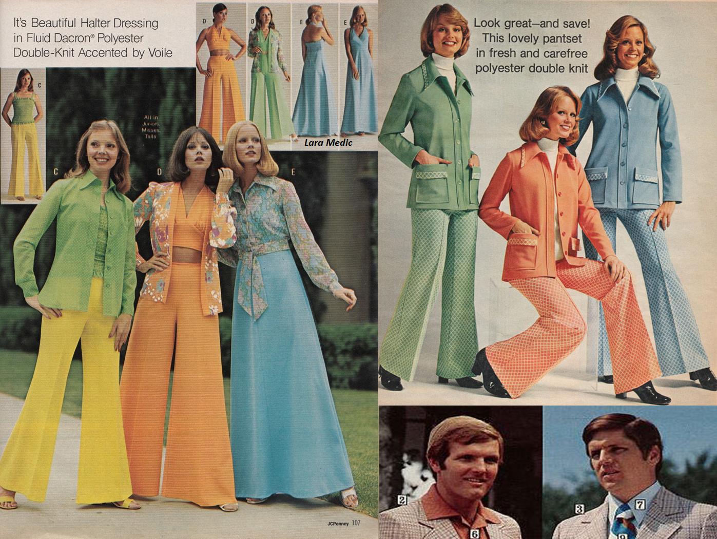 Как одеться в стиле 70-х