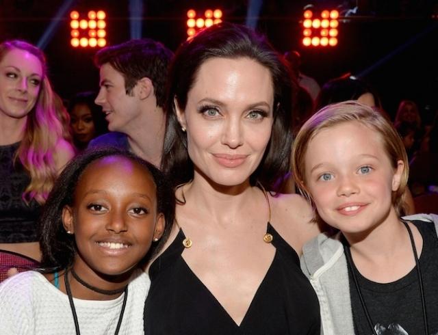Новая драма Анджелины Джоли: актриса боится, что ее бросит приемная дочь из Эфиопии - фото №2