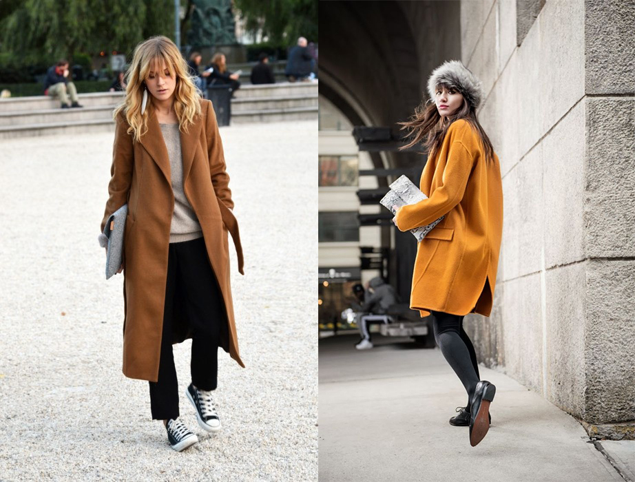 Как носить oversize-пальто: 25 образов street style - фото №1
