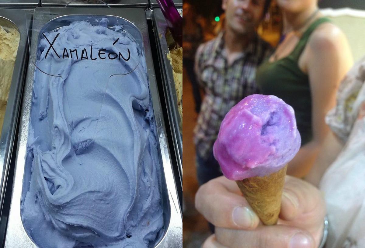 В продаже появилось меняющее цвет мороженое - фото №1