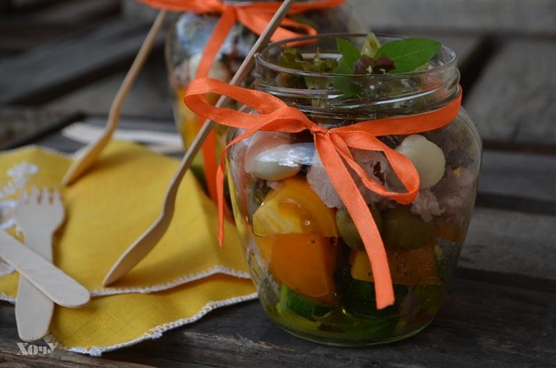 Кулинарная колонка Оли Мончук. Салат в банке - фото №10